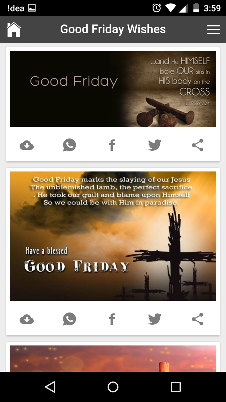 Good friday 2017 wishes quotes messages greetings and gif images get any image with quote kristyandbryce Images