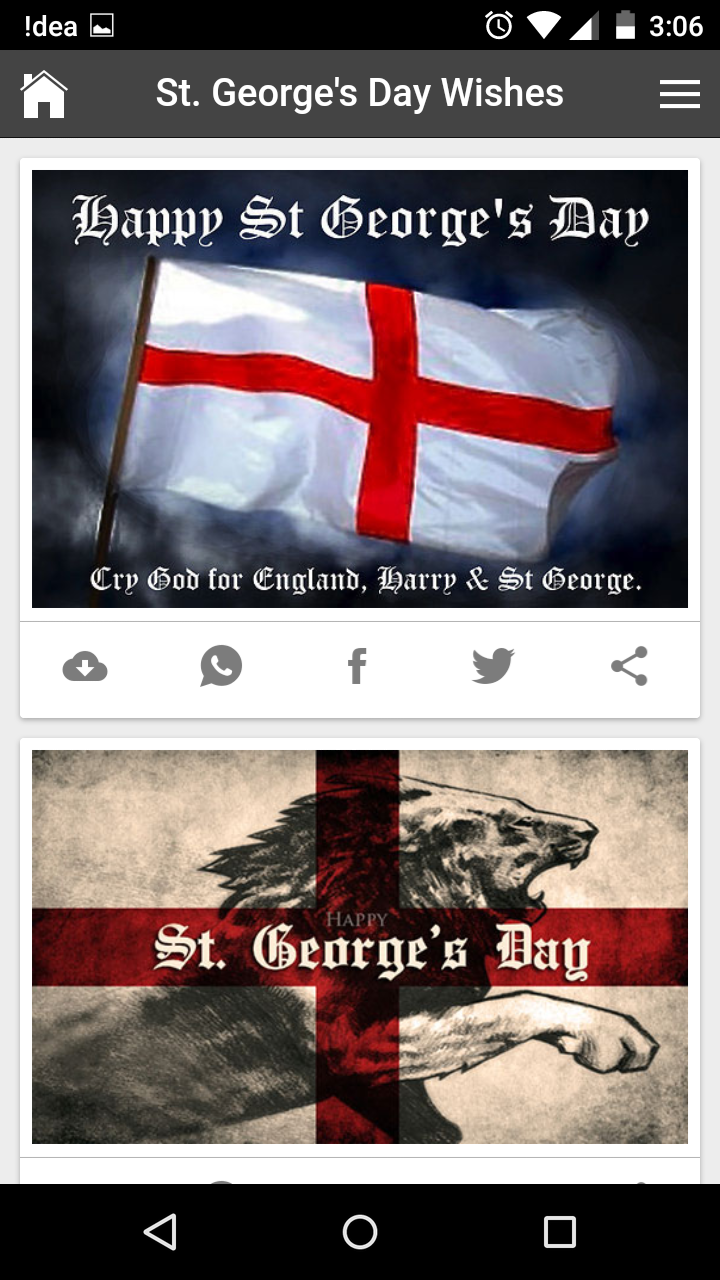 St georges day wishes quotes messages greetings and gif images get any image with quote kristyandbryce Gallery