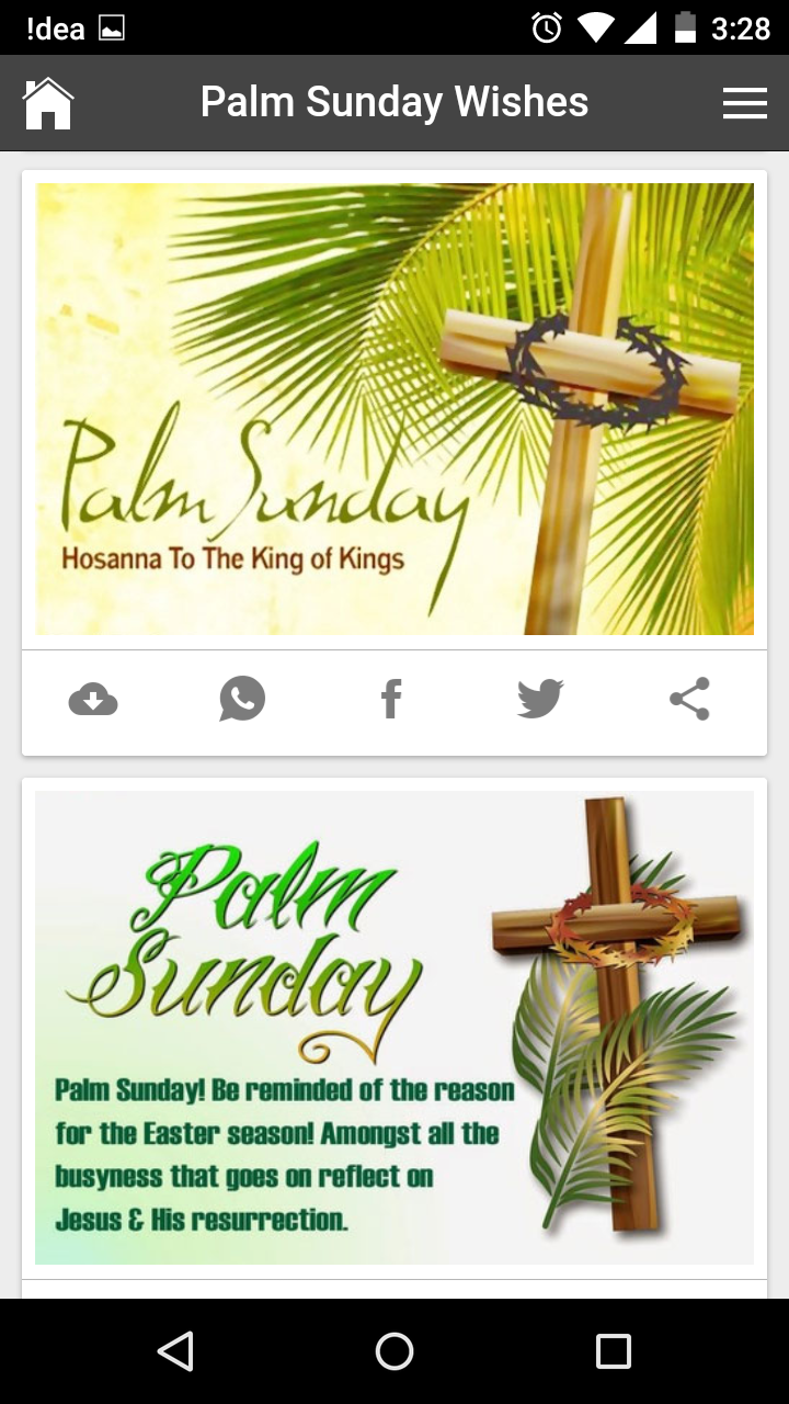 Palm Sunday Wishes Quotes Messages Greetings And Gif Images
