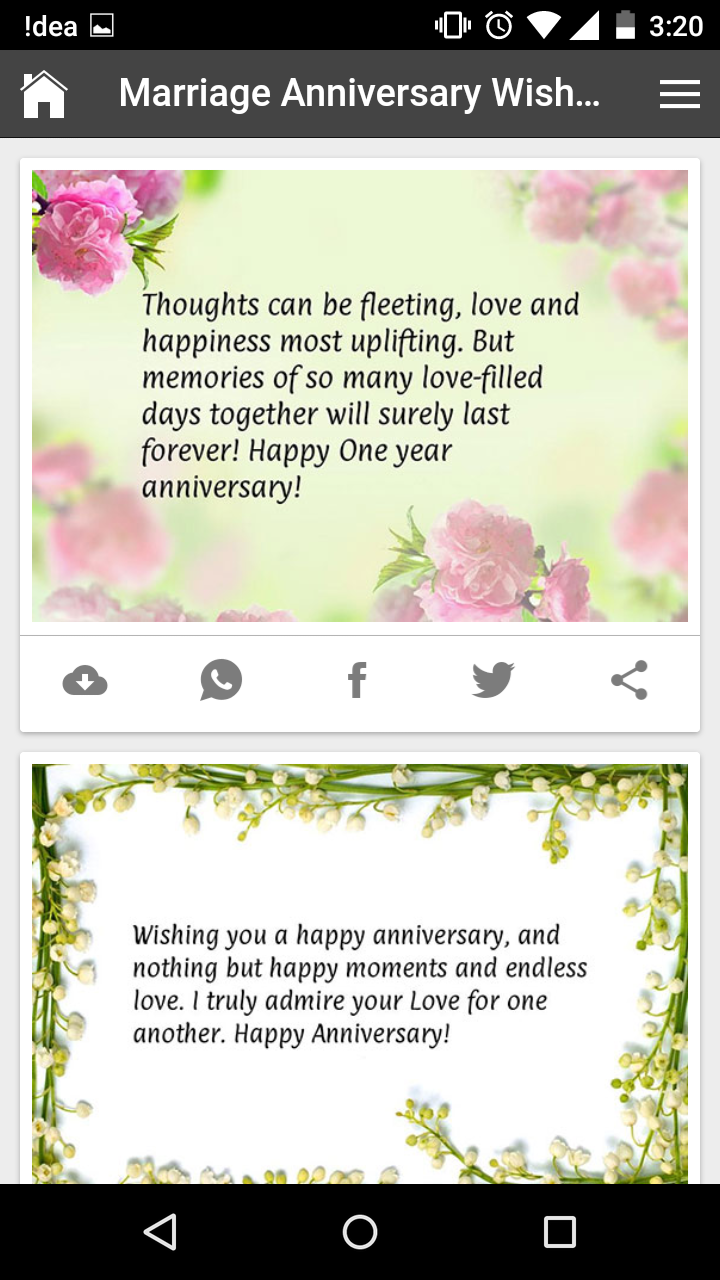 Romantic Marriage Anniversary Wishes, Quotes, Messages, Gif