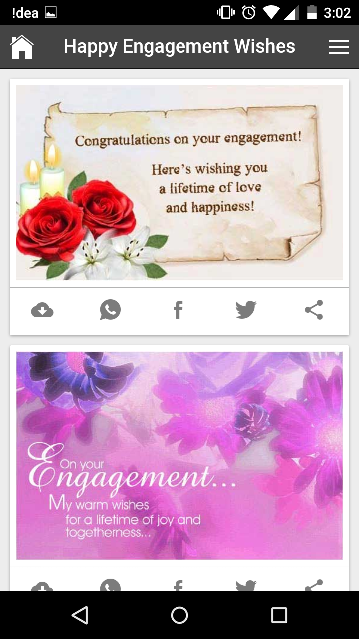Lovely happy engagement wishes quotes romantic messages gif images get any image with quote m4hsunfo