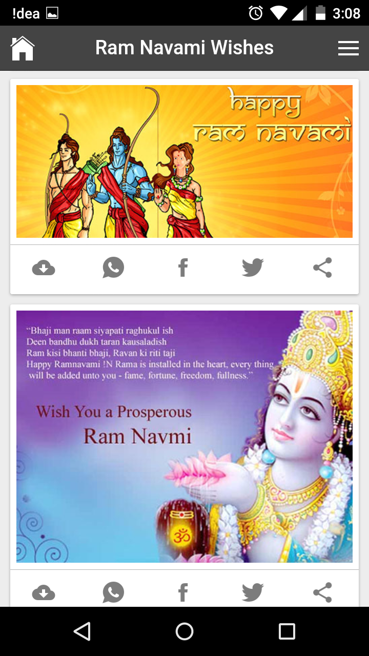 Best Happy Rama Navami Wishes Quotes Messages Greetings And Gif