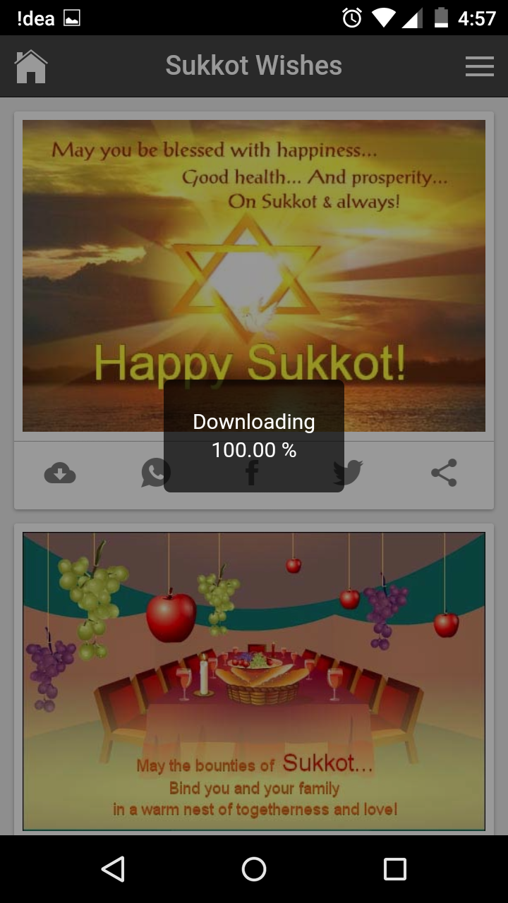 Happy sukkot wishes quotes messages greetings and gif images kristyandbryce Images