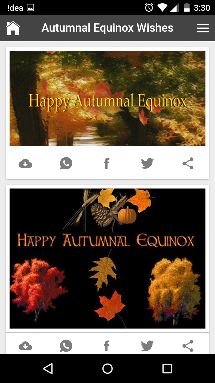Happy autumnal equinox wishes quotes messages greetings and gif get any image with quote kristyandbryce Images