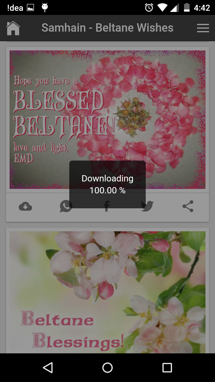 Happy beltane wishes quotes messages greetings and gif images m4hsunfo