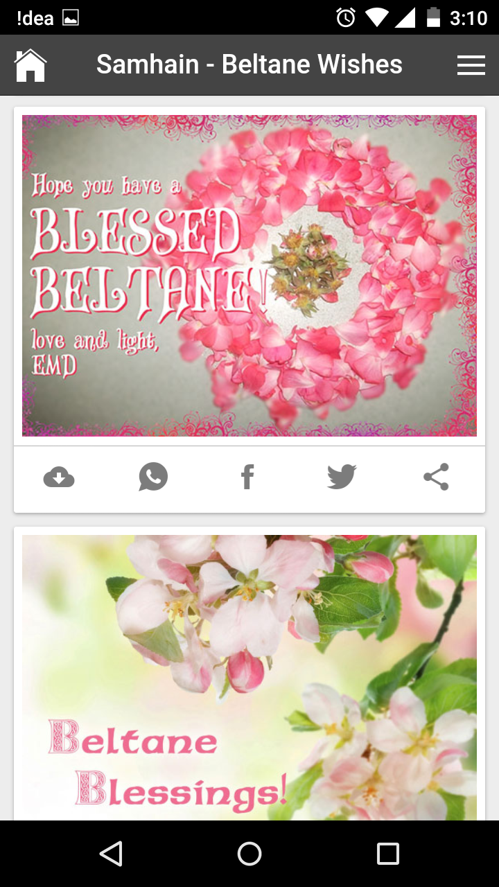 Happy beltane wishes quotes messages greetings and gif images get any image with quote m4hsunfo