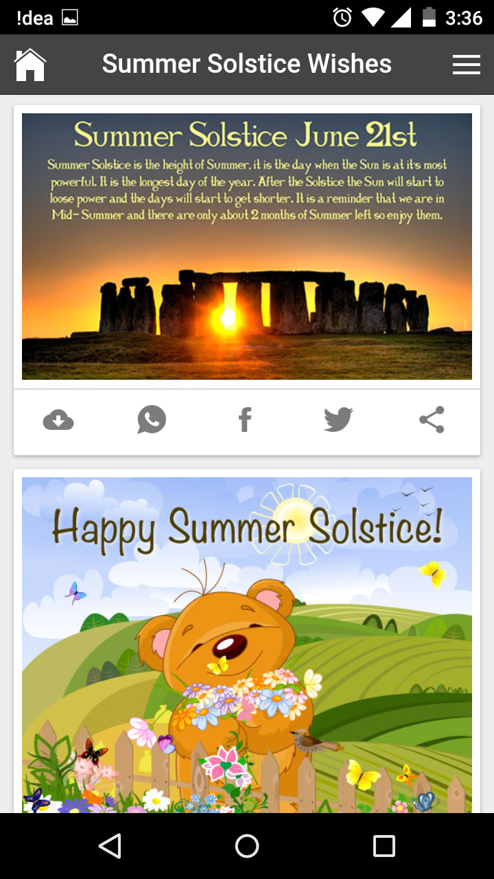 Happy summer solstice wishes quotes messages greetings and gif images get any image with quote kristyandbryce Images