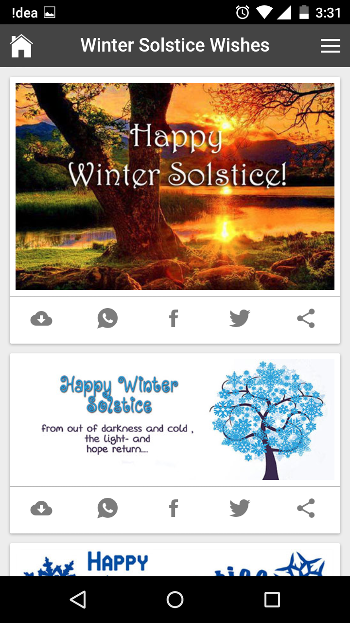Happy winter solstice wishes quotes messages greetings and gif images get any image with quote m4hsunfo