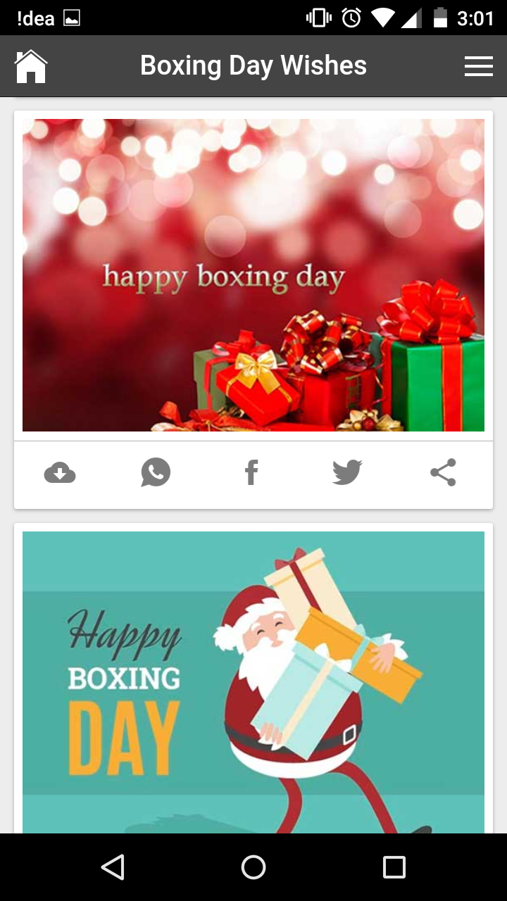Happy boxing day wishes quotes messages greetings and gif images get any image with quote m4hsunfo