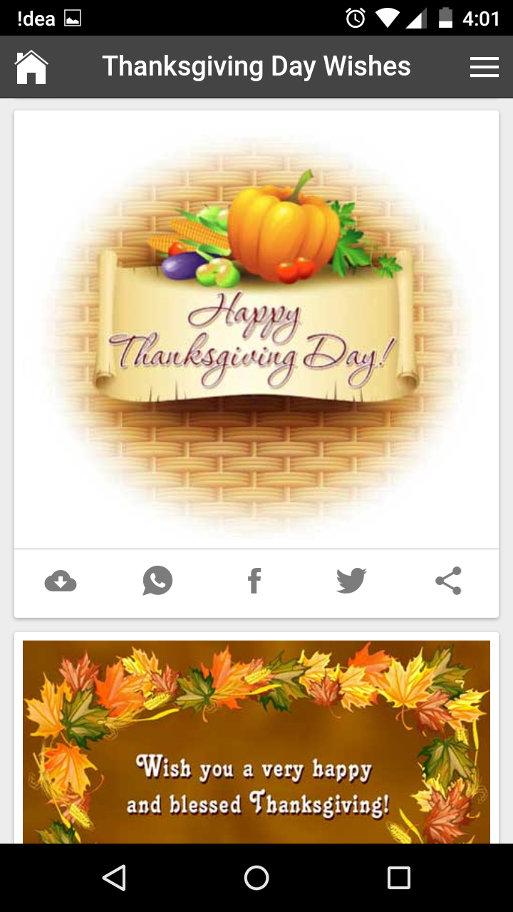 Happy thanksgiving day wishes quotes messages greetings and gif get any image with quote kristyandbryce Gallery
