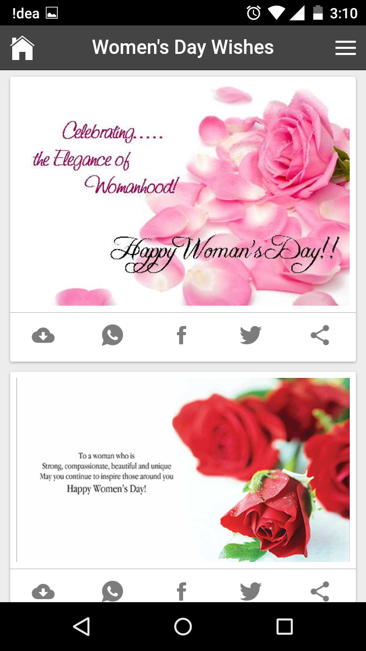 Happy womens day wishes quotes messages greetings and gif images kristyandbryce Gallery